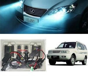 Headlights and bulbs - Trigcars Tata Safari Dicor Car HID Light