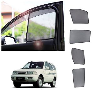 Trigcars Tata Safari Dicor Car Half Sunshade