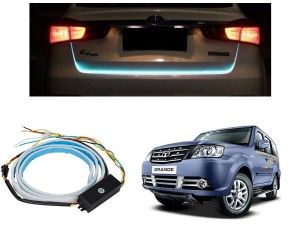 Trigcars Tata Safari Grande Car Dicky LED Light Car Bluetooth