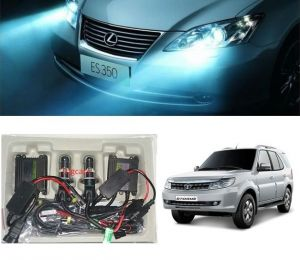 Headlights and bulbs - Trigcars Tata Safari Storme Car HID Light