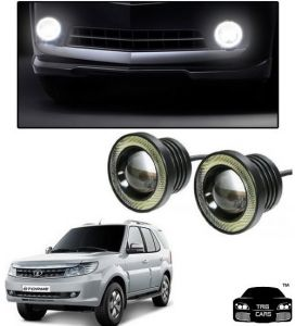 Trigcars Tata Safari Storme Car High Power Fog Light With Angel Eye