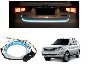 Trigcars Tata Safari Strome Car Dicky LED Light Car Bluetooth