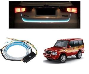 Trigcars Tata Sumo Gold Car Dicky LED Light Car Bluetooth