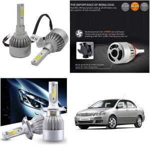 Headlights and bulbs - Trigcars Toyota Corolla Car LED HID Head Light
