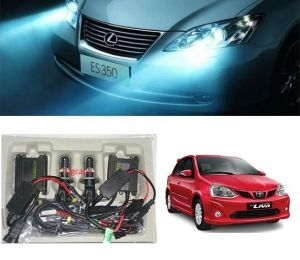 Headlights and bulbs - Trigcars Toyota Etios Liva Car HID Light