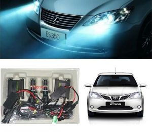 Headlights and bulbs - Trigcars Toyota Etios New Car HID Light