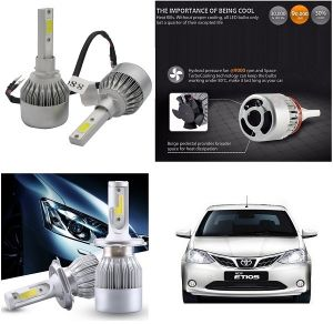 Trigcars Toyota Etios New Car LED Hid Head Light