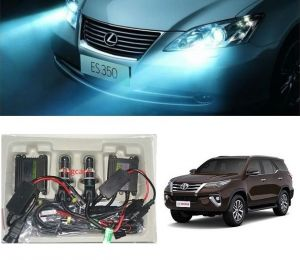 Headlights and bulbs - Trigcars Toyota Fortuner New Car HID Light