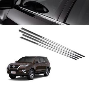 Trigcars Toyota Fortuner New Car Window Lower Garnish