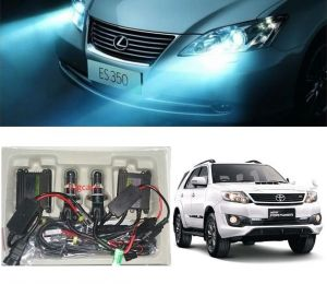 Headlights and bulbs - Trigcars Toyota Fortuner Old Car HID Light