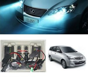 Headlights and bulbs - Trigcars Toyota Innova Old Car HID Light