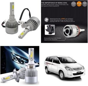 Headlights and bulbs - Trigcars Toyota Innova Old Car LED HID Head Light