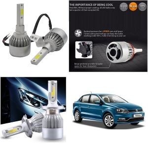 Headlights and bulbs - Trigcars Volkswagen Ameo Car LED HID Head Light