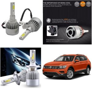 Headlights and bulbs - Trigcars Volkswagen Tiguan Car LED HID Head Light