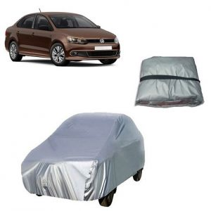 Body covers for bikes - Trigcars Volkswagen Vento Car Cover Silver