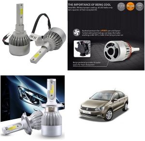 Headlights and bulbs - Trigcars Volkswagen Vento Car LED HID Head Light