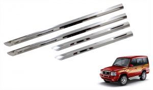 Side beading for cars - Trigcars Tata Sumo Gold Car Steel Chrome Side Beading