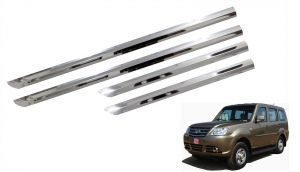Side beading for cars - Trigcars Tata Sumo Grande Car Steel Chrome Side Beading