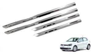 Trigcars Volkswagen Polo Car Steel Chrome Side Beading