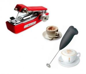 Ami Handy Sewing Machine With Electric Handle Coffee, Milk, Egg Beater. COMBO