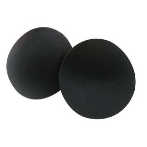 Black Bra Pad Inserts Inhance Breast For All Purpose Light Weight.