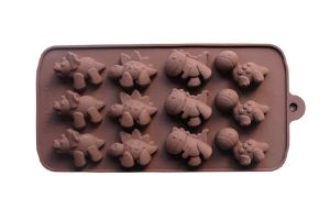 Silicone Chocolate Mould / Ice Mould - Dinosaur Shape.