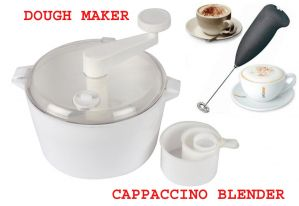 Dough Maker Free Electric Handle Coffee , Milk, Egg Beater COMBO OFFER.