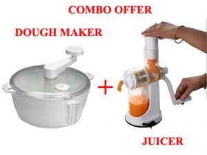 Fruit & Vegetable Juicer With Dough Maker Combo.