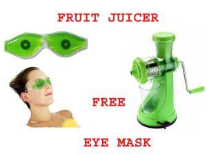 Fruit & Vegetable Juicer With Aloe Vera Eye Care Cool Mask Free.
