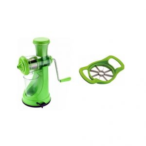 The Ultimate Fruit & Vegetable Juicer And Apple Cutter Absolutely FREE.