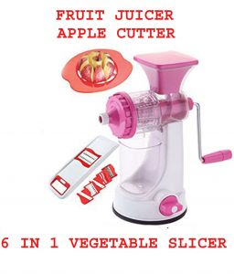 Fruit Juicer, Apple Cutter, 6 In 1 Slicer Combo Offer.