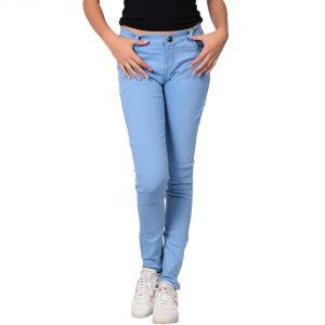 Waiverson Women Blue Slim Fit Stretchable Jeans (code - Dp-dnm-blu-1101_l)
