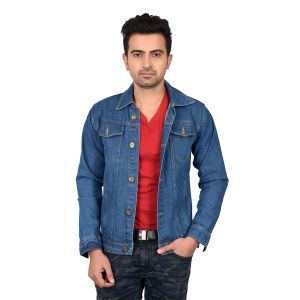 Waiverson Slim Fit Blue Denim Jacket (code - Dp-dnm-jkt-s-1090)