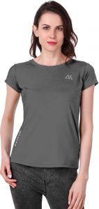 Waiverson Casual Plain Sports T-shirts For Women (grey) (code -sport-tee-nivik-gry)