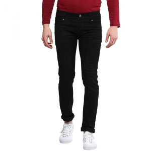 Jeans (Men's) - Waiverson Slim Fit Black Men's Multicolor Jeans (Code - DP-DNM-BLK-1009)