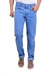 Men's Wear - Waiverson Slim Fit Light Blue Men's Multicolor Jeans (Code - DP-DNM-LB-1007)