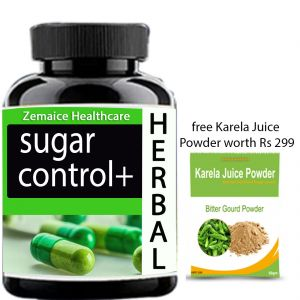 Sugar Control Plus For Sugar Treatment Free Karela Juice Powder