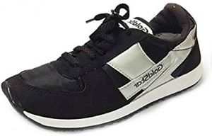Gold Stars Black Running Sport Shoe For Men (code - Goldstarblack)
