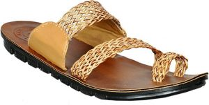 Kolhapuri Slippers For Men (code - Kolhapuritan)