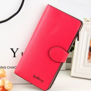 Baellerry Clutch Mobile Holder Pu Leather For Women Red (code - N84531305)