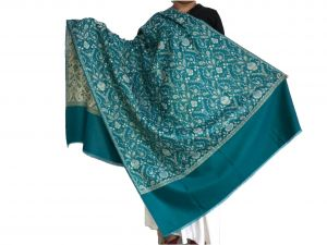 Krish Jamawar Shawl Stole Blue For Women (code - Jmblue)