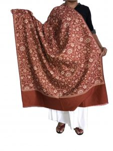 Krish Jamawar Shawl Stole Brown For Women (code- Jmlbrown)