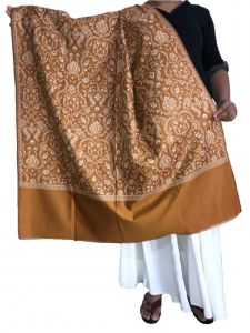 Krish Jamawar Shawl Stole Royal Blue For Women (code - Jmgold)