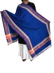 Krish Viscose Stole Shawl Blue For Women (code - Vsblue)