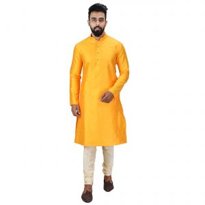Limited Edition Cotton Silk Regular Fit Self Design Kurta Pajama ( Code - Akakkuset045)