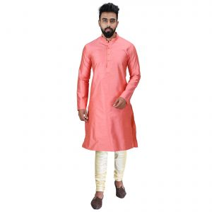 Limited Edition Cotton Silk Regular Fit Self Design Kurta Pajama ( Code - Akakkuset048)