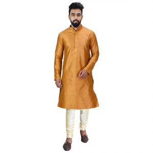 Limited Edition Cotton Silk Regular Fit Self Design Kurta Pajama ( Code - Akakkuset0048)