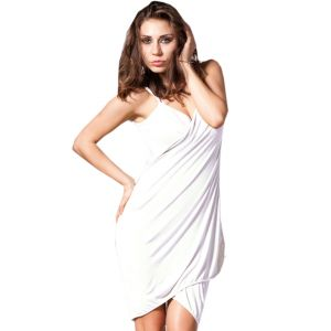 Fascinating Lingerie - Glamorous Open Back, Moonlight Bikini Cover Up Wrap Dress - (code - Flplgobmbcuwd01 )