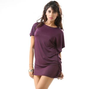 Women's Clothing - Fascinating Lingerie-One Shoulder Purple Unique-(FLPLOSPURPLEUCWMD01)