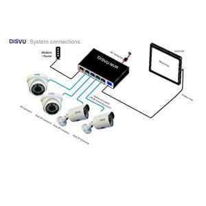 Electronics - DISVU high Resolution NVR kit(code - RD-NVR-Kit-DI)